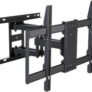 Full Motion TV Wall Mount. Tilt and Swivel TV Bracket