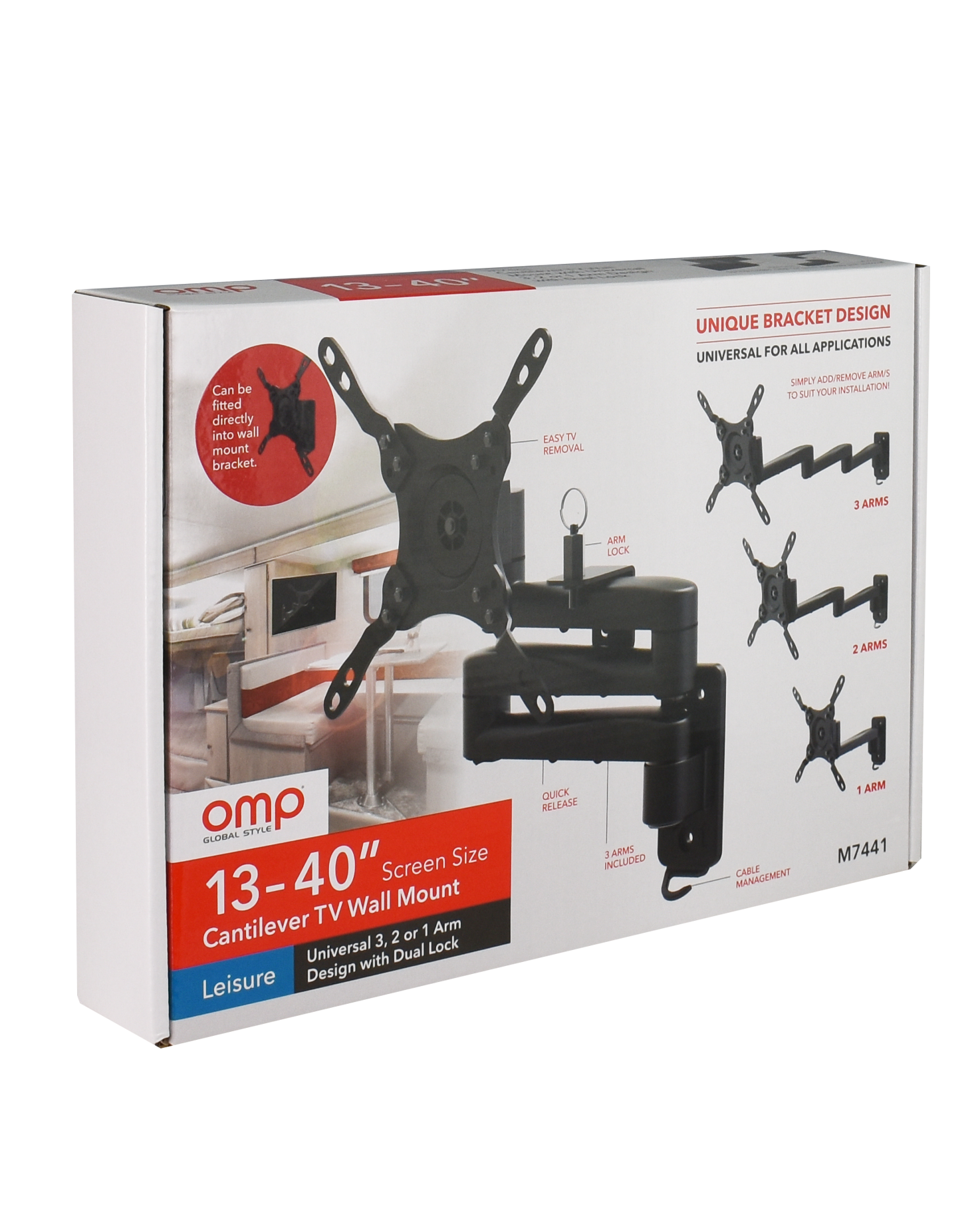 Shipping & Delivery Universal TV Brackets